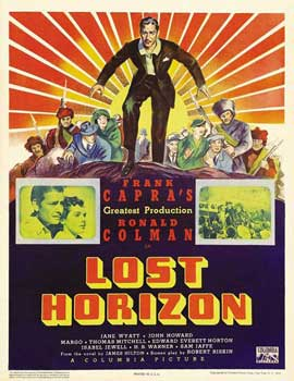 Lost Horizon - 11 x 17 Movie Poster - Style D