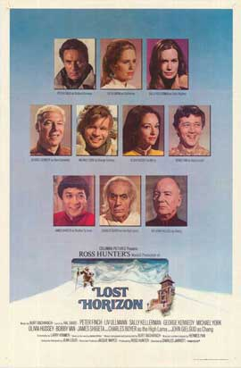 Lost Horizon - 27 x 40 Movie Poster - Style D