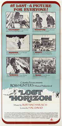 Lost Horizon - 20 x 60 - Door Movie Poster - Style A
