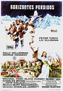 Lost Horizon - 27 x 40 Movie Poster - Belgian Style B