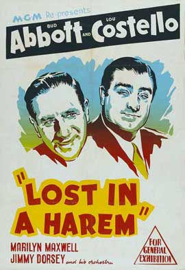 Lost in a Harem - 11 x 17 Movie Poster - Style A