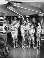 Lost in Space - Lost In Space Group Picture in Black and White