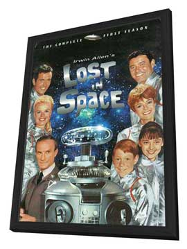 Lost in Space (TV) - 11 x 17 TV Poster - Style C - in Deluxe Wood Frame