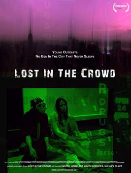 Lost in the Crowd - 43 x 62 Movie Poster - Bus Shelter Style A
