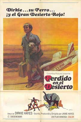 Lost in the Desert - 11 x 17 Movie Poster - Spanish Style A