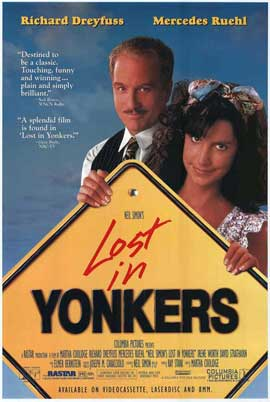 Lost in Yonkers - 27 x 40 Movie Poster - Style A