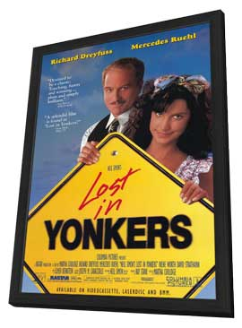 Lost in Yonkers - 11 x 17 Movie Poster - Style A - in Deluxe Wood Frame
