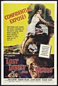 Lost, Lonely, and Vicious - 11 x 17 Movie Poster - Style A