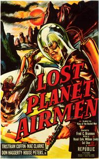 Lost Planet Airmen - 43 x 62 Movie Poster - Bus Shelter Style A