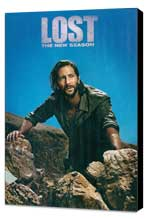 Lost (TV) - 11 x 17 TV Poster - Style M - Museum Wrapped Canvas