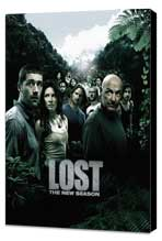 Lost (TV) - 11 x 17 TV Poster - Style U - Museum Wrapped Canvas