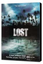 Lost (TV) - 27 x 40 TV Poster - Style F - Museum Wrapped Canvas