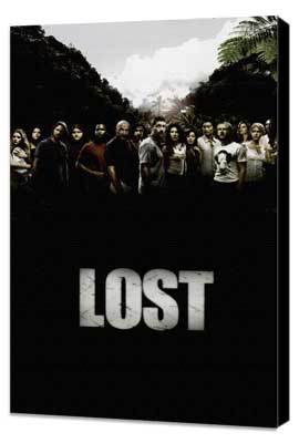 Lost (TV) - 11 x 17 TV Poster - Style J - Museum Wrapped Canvas