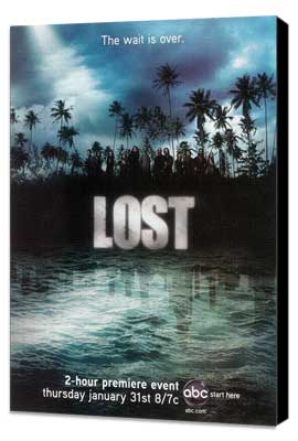 Lost (TV) - 11 x 17 TV Poster - Style X - Museum Wrapped Canvas