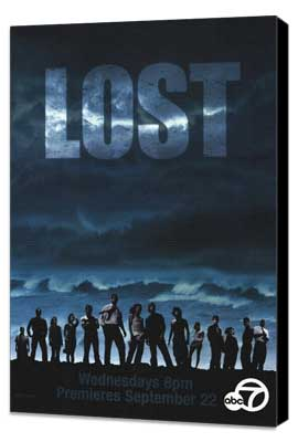 Lost (TV) - 27 x 40 TV Poster - Style J - Museum Wrapped Canvas