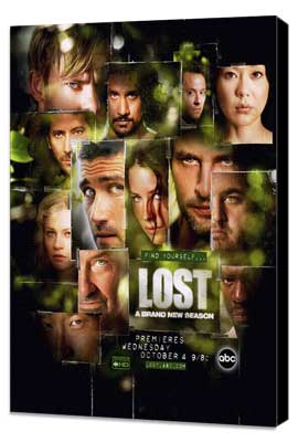 Lost (TV) - 27 x 40 TV Poster - Style H - Museum Wrapped Canvas