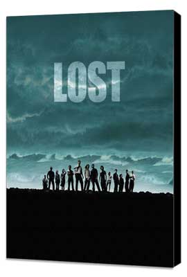 Lost (TV) - 27 x 40 TV Poster - Style I - Museum Wrapped Canvas