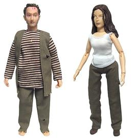 Lost (TV) - Ben Linus and Kate Austen 8-Inch Action Figures