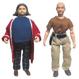 Lost (TV) - Hurley Reyes and John Locke 8-Inch Action Figures