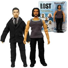 Lost (TV) - Jack and Sayid 8-Inch Action Figures