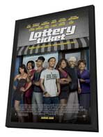 Lottery Ticket - 11 x 17 Movie Poster - Style A - in Deluxe Wood Frame