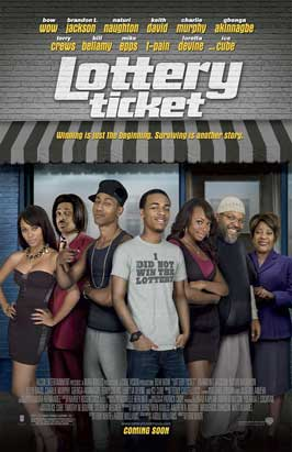 Lottery Ticket - DS 1 Sheet Movie Poster - Style A