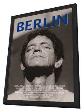 Lou Reed's Berlin - 11 x 17 Movie Poster - Style A - in Deluxe Wood Frame