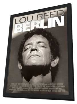 Lou Reed's Berlin - 27 x 40 Movie Poster - Style B - in Deluxe Wood Frame