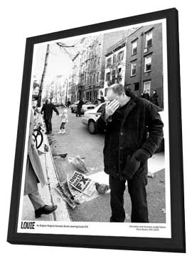Louie (TV) - 11 x 17 TV Poster - Style A - in Deluxe Wood Frame