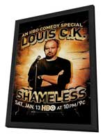Louis C.K.: Shameless - 11 x 17 TV Poster - Style A - in Deluxe Wood Frame