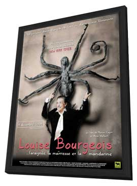 Louise Bourgeois: The Spider, the Mistress and the Tangerine - 27 x 40 Movie Poster - French Style A - in Deluxe Wood Frame