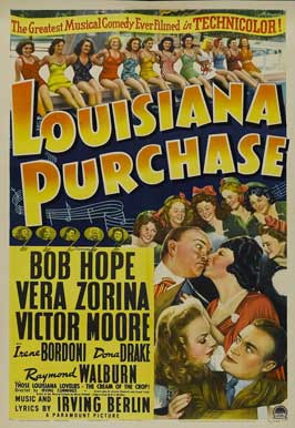 Louisiana Purchase - 11 x 17 Movie Poster - Style A