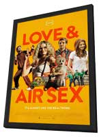 Love & Air Sex - 11 x 17 Movie Poster - Style A - in Deluxe Wood Frame