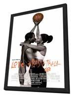 Love and Basketball - 11 x 17 Movie Poster - Style A - in Deluxe Wood Frame
