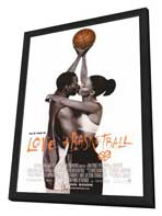 Love and Basketball - 27 x 40 Movie Poster - Style A - in Deluxe Wood Frame