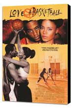 Love and Basketball - 27 x 40 Movie Poster - Style C - Museum Wrapped Canvas