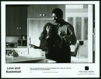 Love and Basketball - 8 x 10 B&W Photo #1