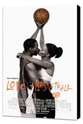 Love and Basketball - 11 x 17 Movie Poster - Style A - Museum Wrapped Canvas