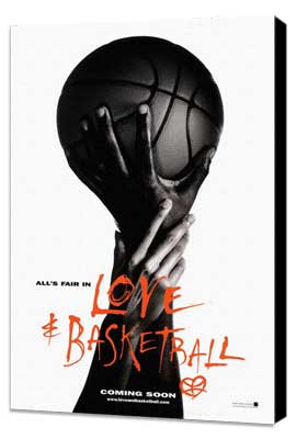 Love and Basketball - 11 x 17 Movie Poster - Style B - Museum Wrapped Canvas