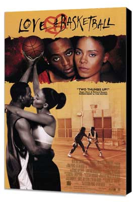 Love and Basketball - 11 x 17 Movie Poster - Style C - Museum Wrapped Canvas