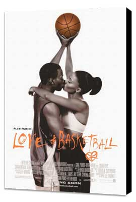 Love and Basketball - 27 x 40 Movie Poster - Style A - Museum Wrapped Canvas
