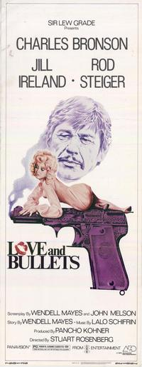 Love and Bullets - 14 x 36 Movie Poster - Insert Style A