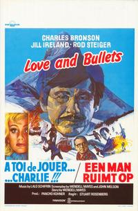 Love and Bullets - 11 x 17 Movie Poster - Belgian Style A