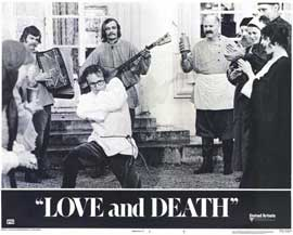 Love and Death - 11 x 14 Movie Poster - Style E