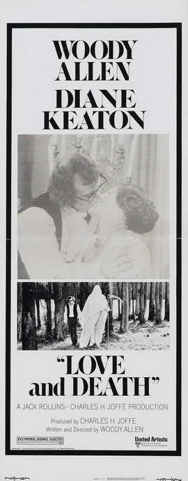 Love and Death - 14 x 36 Movie Poster - Insert Style A