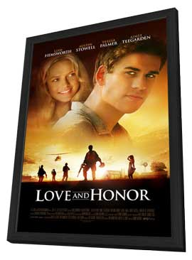 Love and Honor - 11 x 17 Movie Poster - Style A - in Deluxe Wood Frame
