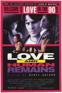 Love and Human Remains - 43 x 62 Movie Poster - Bus Shelter Style A