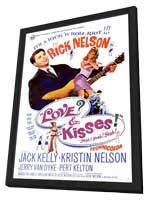 Love and Kisses - 11 x 17 Movie Poster - Style A - in Deluxe Wood Frame