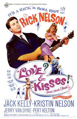 Love and Kisses - 11 x 17 Movie Poster - Style A