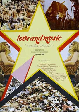 Love and Music - 27 x 40 Movie Poster - Style A